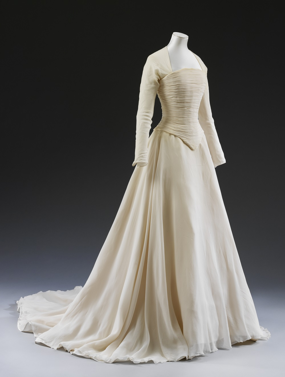 Not all white victoria and albert museum for 19th century wedding dresses