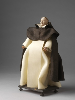 Ecclesiastical figure wearing the habit of a Dominican canon (museum no. 1212:8-1905 © Victoria and Albert Museum, London
