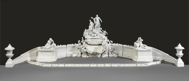 Table fountain, Meissen Porcelain Factory, ca. 1775 © Victoria and Albert Museum, London