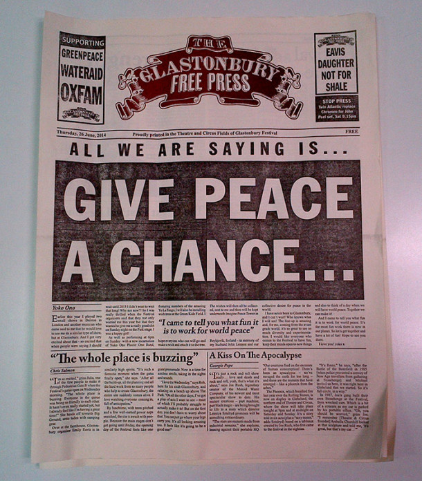 The Glastonbury Free Press