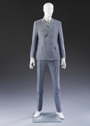 Double-breasted suit by Stefano Pilati for Yves Saint Laurent, 2011