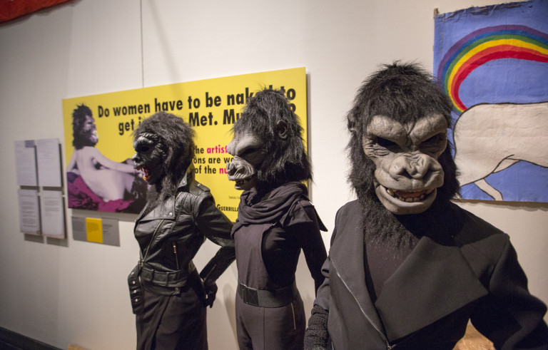 the guerrilla girls feminisms wonder women The new york society library presents act like a feminist artist: a guerrilla girl unmasks by donna kaz ever wonder what it's like to be a feminist masked a.