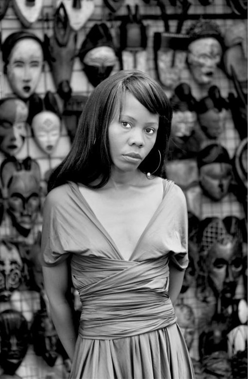 Kekeletso Khena, Green Market Square Cape Town, from the series Faces and Phases, 2012 © Zanele Muholi