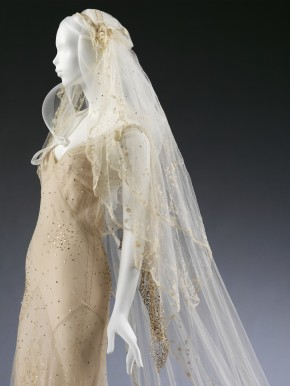 Kate Moss's wedding dress, designed by John Galliano, 2011