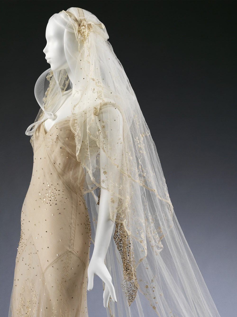 A dress with a view victoria and albert museum for John galliano wedding dress