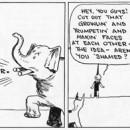 Annie ponders life's big questions. Harold Gray's 'Little Orphan Annie', June 3, 1926. © Tribune Media Services, Inc.