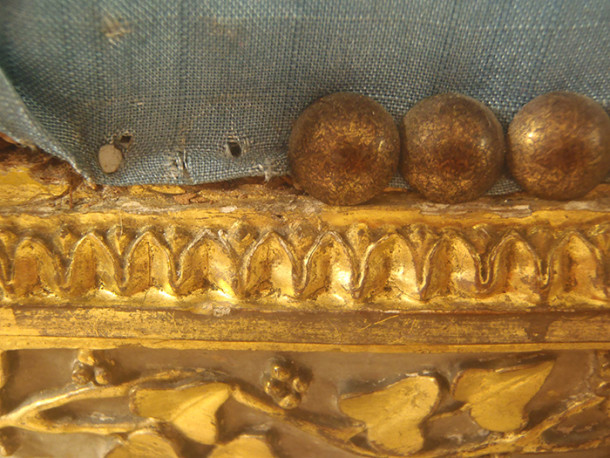Damage caused by tacks