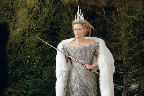 Tilda Swinton in the 2005 film adaptation of 'The Chronicles of Narnia: The Lion, the Witch and the Wardrobe'.