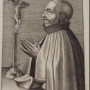 E.3853-1960, print showing St. Ignatius of Loyola, Wierix, (c) Victoria and Albert Museum, London
