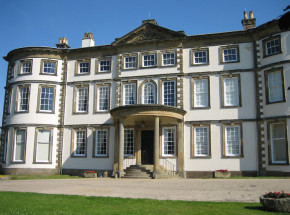 The front of Sewerby Hall