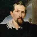 Detail from 'Snyders and his wife', by Anthony van Dyck, Kassel