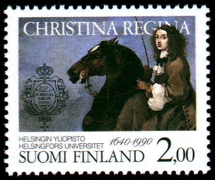 Stamp released in 1990.