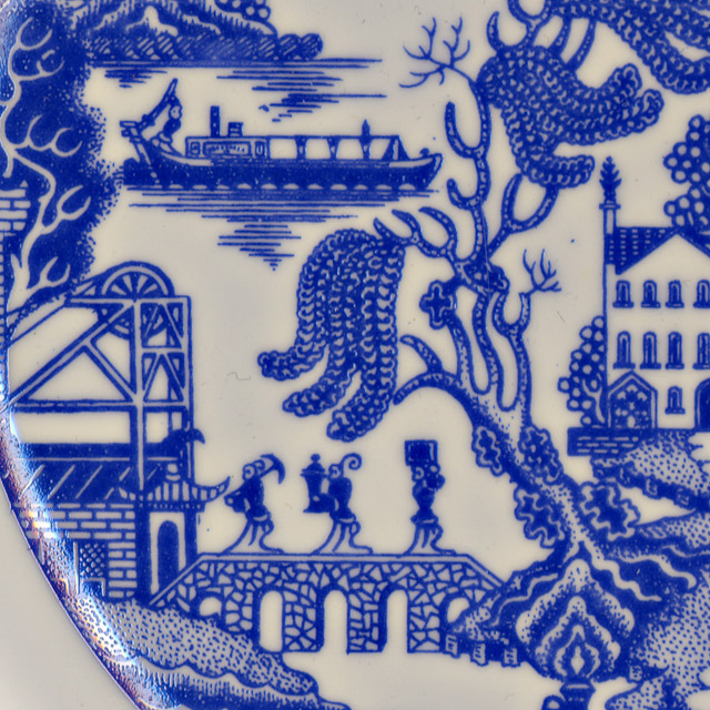The Potteries Willow Victoria And Albert Museum