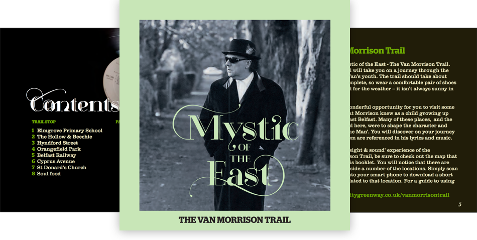 Van Morrison Trail Graphic