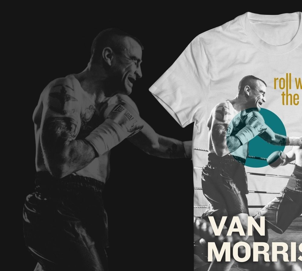 Van Morrison Merchandise Patch