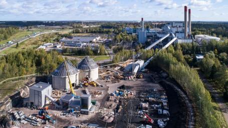 Martinlaakson biokattila on käynnissä