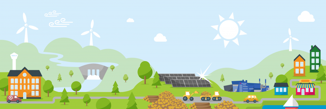 Panostus uusiutuvaan energiantuotantoon tuo säästöjä vantaalaisille