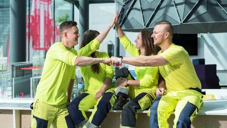 Vastuullisia kesätyökokemuksia Vantaan Energiassa!