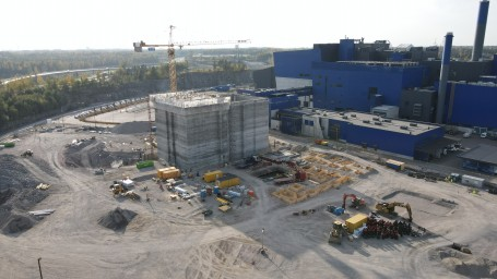 Extension of Vantaa Energy's waste-to-energy plant progressing on schedule