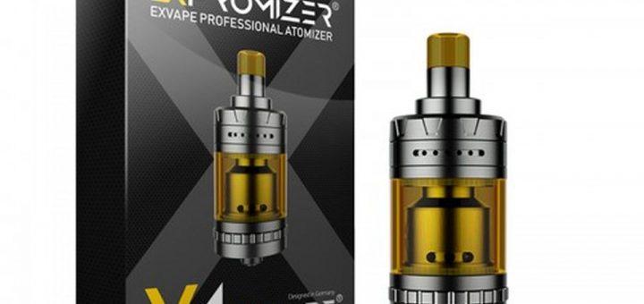 Avec l'Expromizer V4, la marque allemande Exvape nous propose un atomiseur MTL de très bonne facture avec une véritable explosion des saveurs.