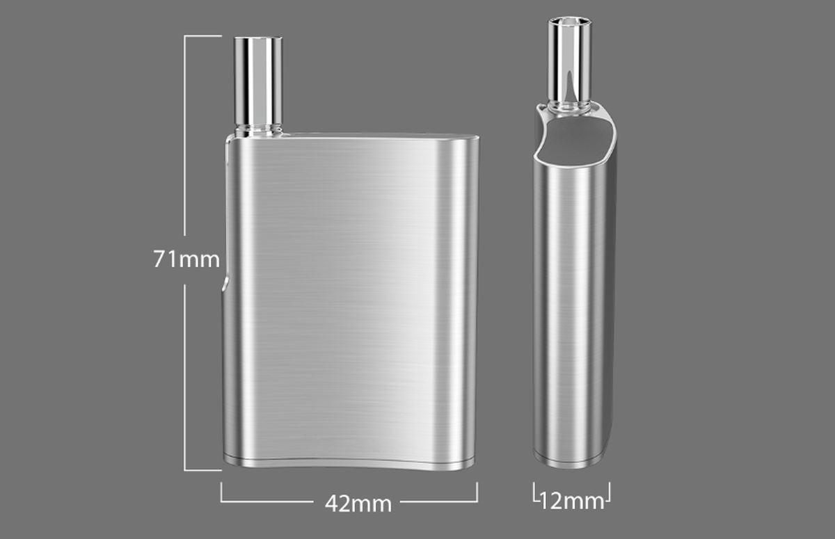 Le kit Eleaf iCare Flask est juste superbe. On dirait une flasque qu'on peut mettre dans sa poche. Idéal pour les voyages.