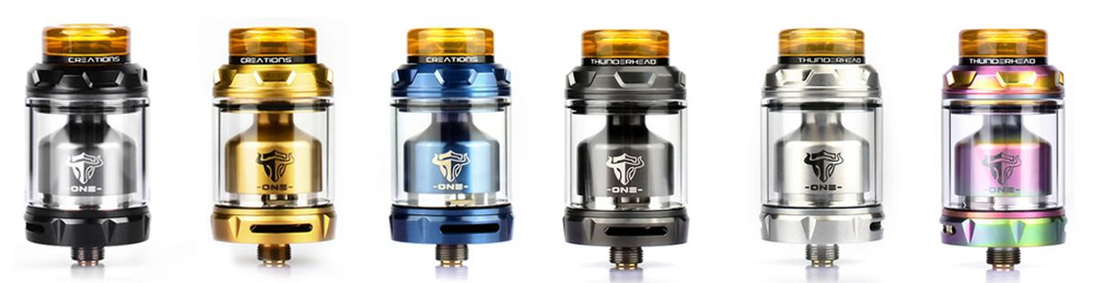 The THC Tauren One is a single coil RTA to maximize flavors. Does he keep his promises?