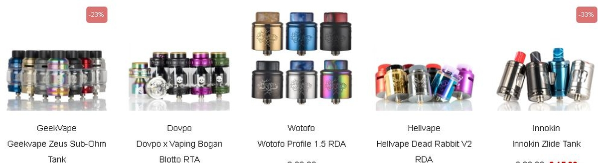 NewVaping offers electronic cigarettes and liquids. Being based in England, deliveries are fairly fast with prices more than affordable.
