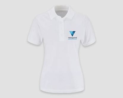 Picture of JERZEES® 100% Cotton Embroidered Women's Polo Shirts