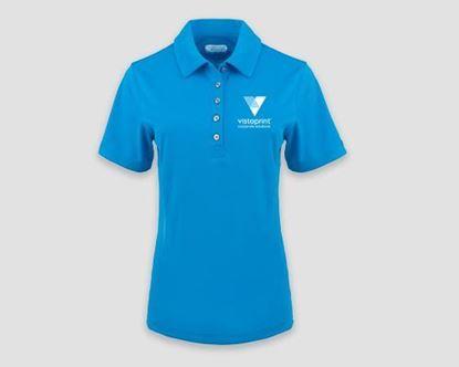 Image de Banhine Women's Short Sleeve Polo Shirt