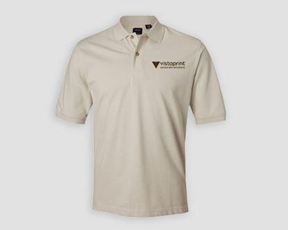 Image de T-shirt sport en tricot piqué Performance IZOD