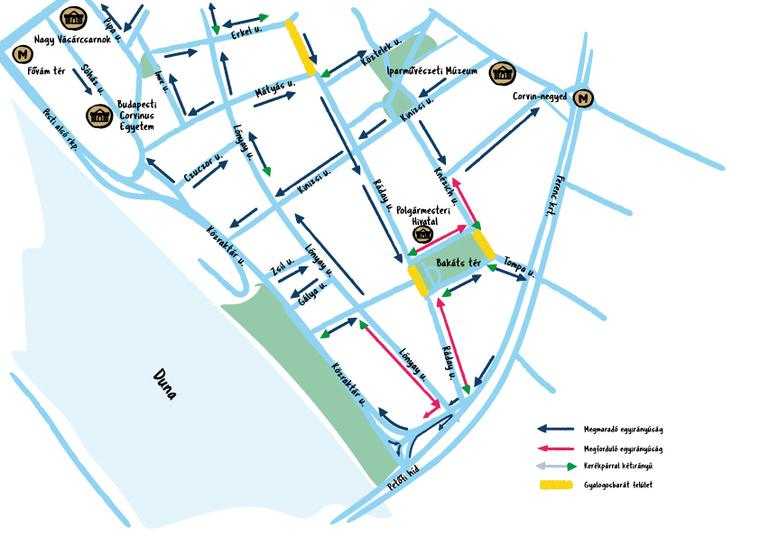 Több teret kaptak nyáron Ferencvárosban a gyalogosok, kevesebb lett az autóforgalom. Mik a városlakók tapasztalatai?
