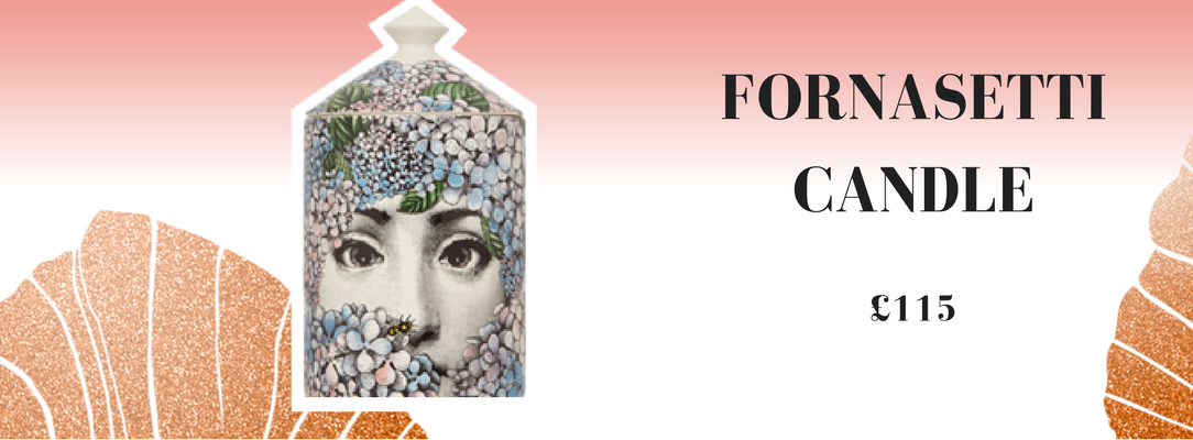 1.	Fornasetti Ortensia scented candle
