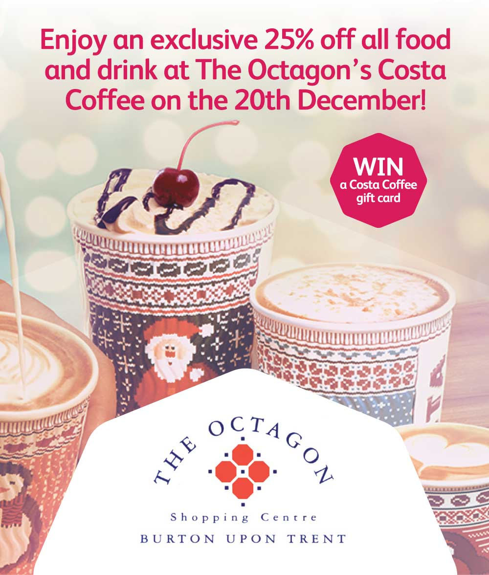 Win A Gift Card For Costa Coffee
