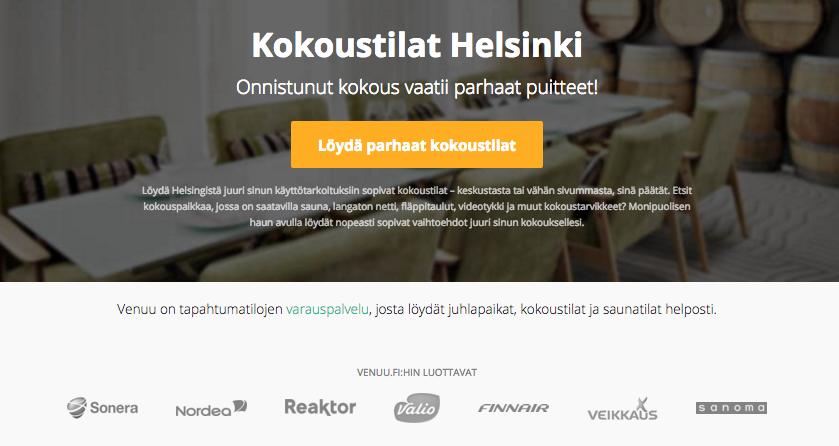 Kokoustilat Helsinki
