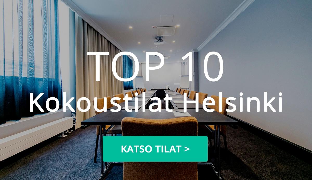 TOP 10 Kokoustilat Helsingissä