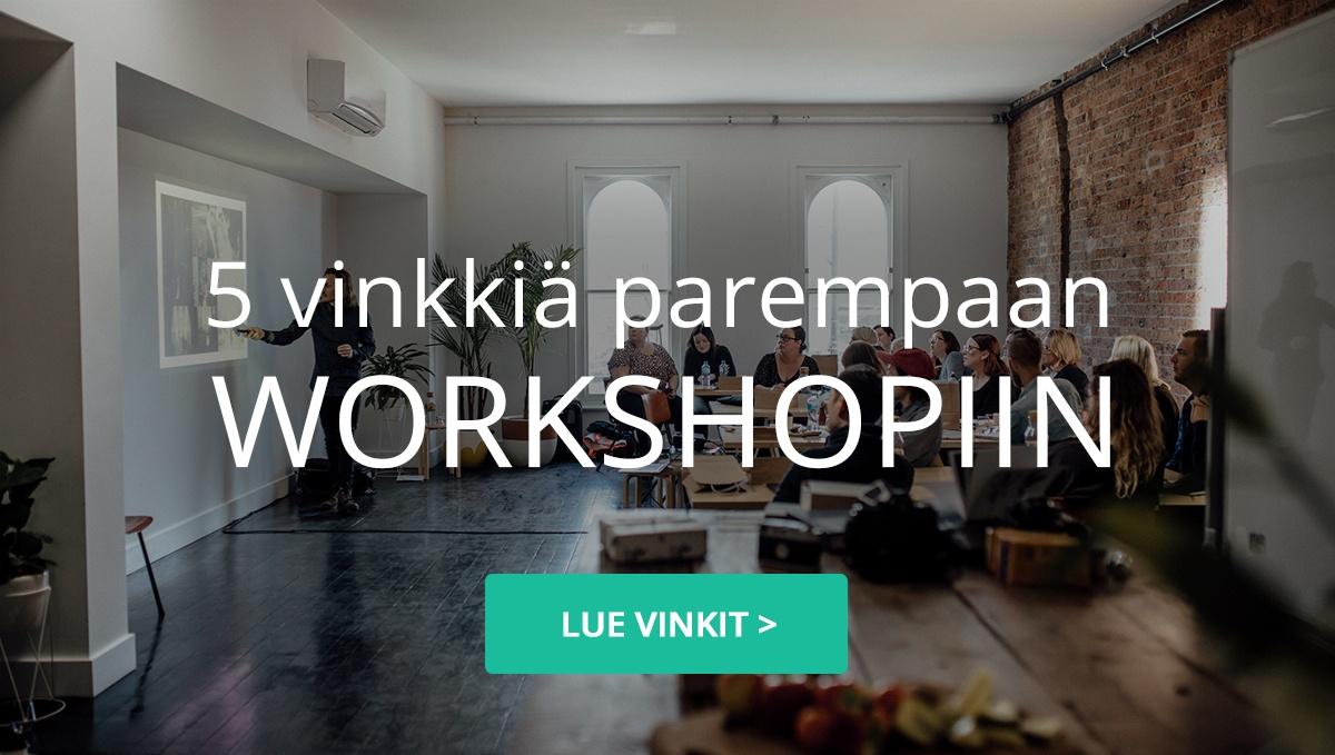 Vieraskynä: 5 vinkkiä kohti parempaa workshopia