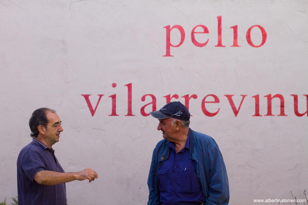 Entrada a la bodega Vilarre Vinum