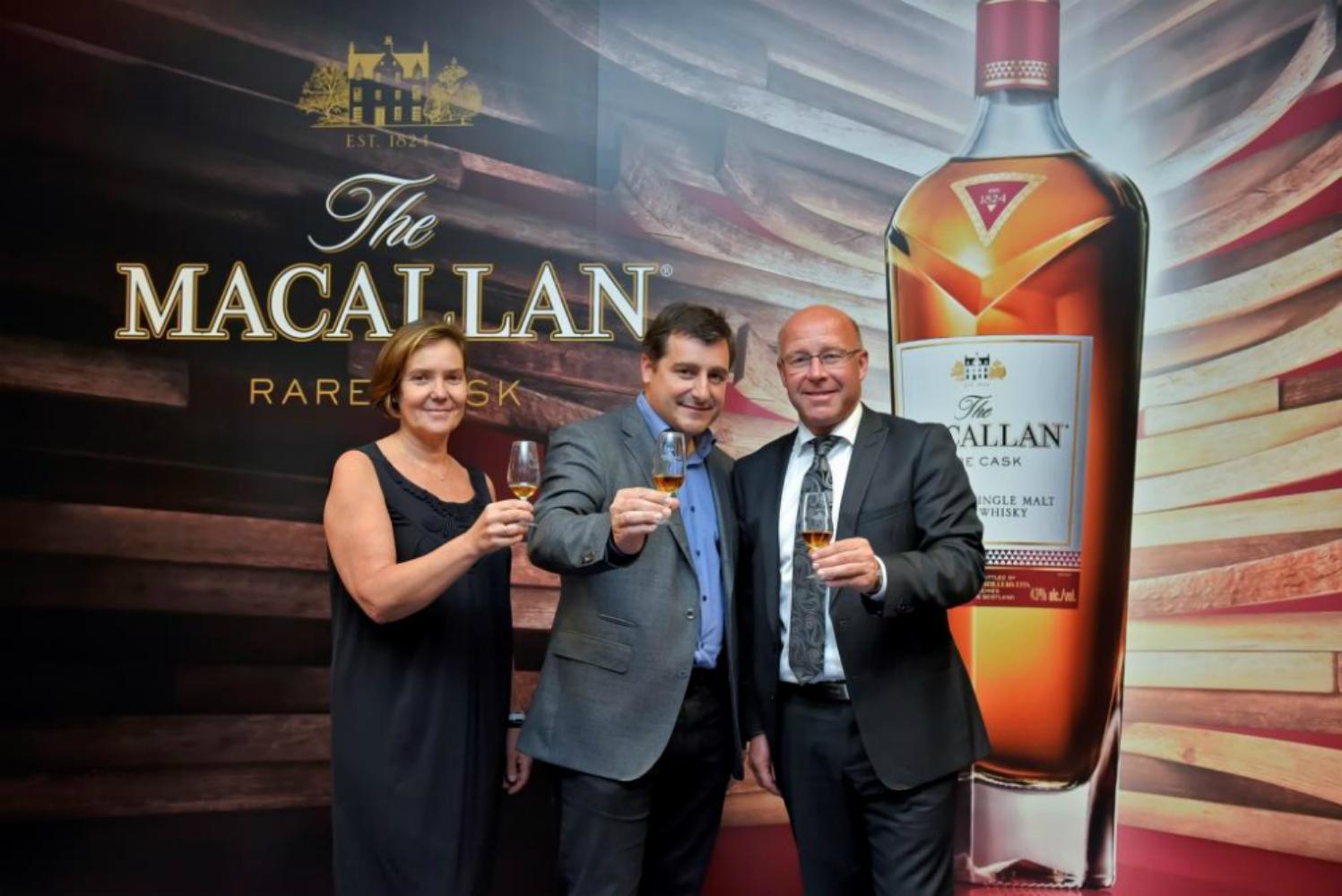 Presentación del nuevo whisky de la destilería The Macallan