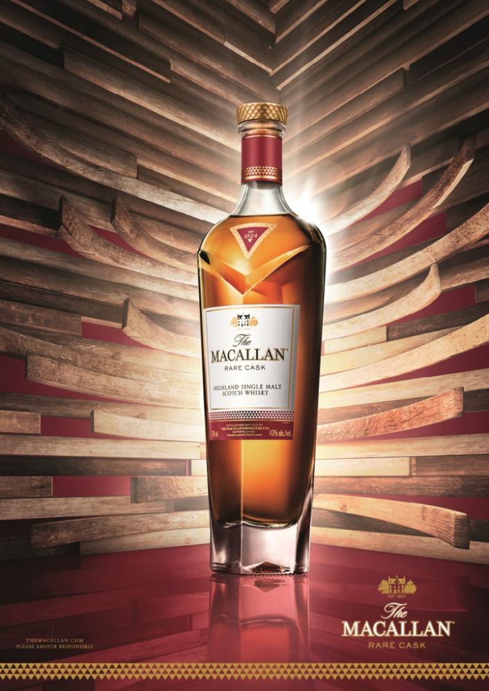 Nuovo whisky Rare Cask della distilleria The Macallan