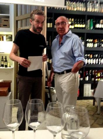 Armando Guerra y Antonio Flores
