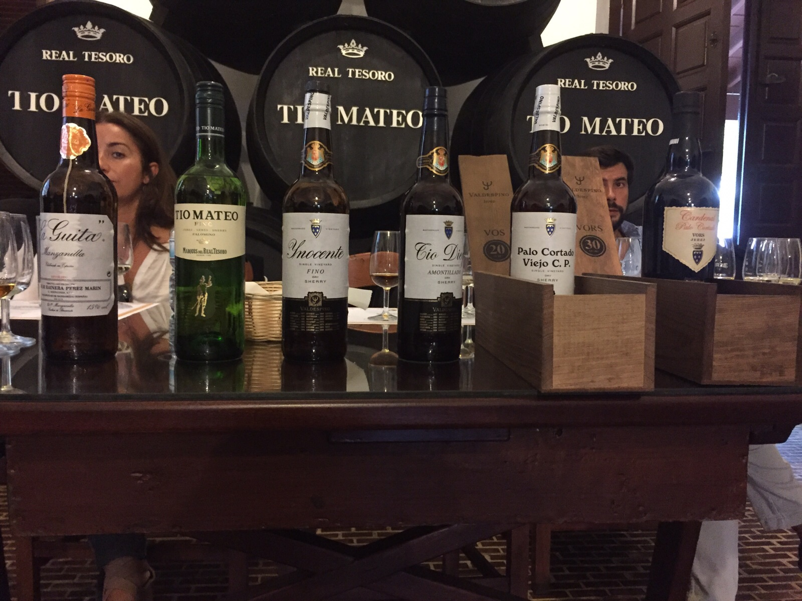 Cata de vinos del Grupo José Estévez