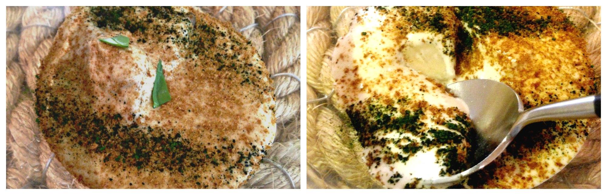 Aponiente: ostra escabechada en soja y manzanilla
