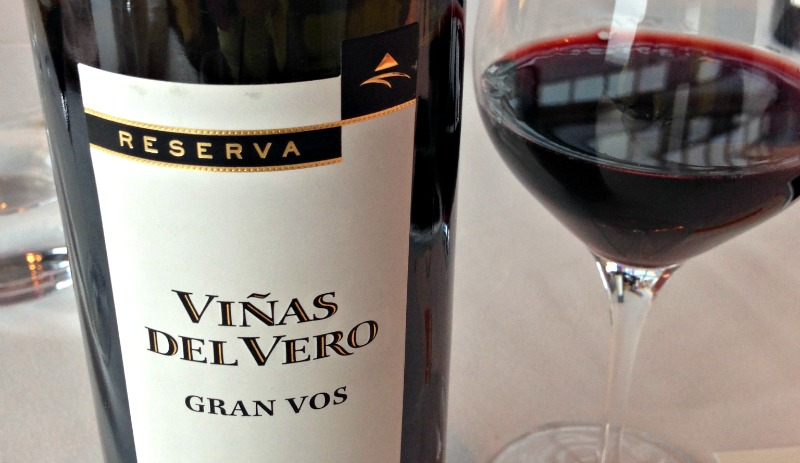 Presentación productos de Aragón: Viñas del Vero Gran Vos 2008