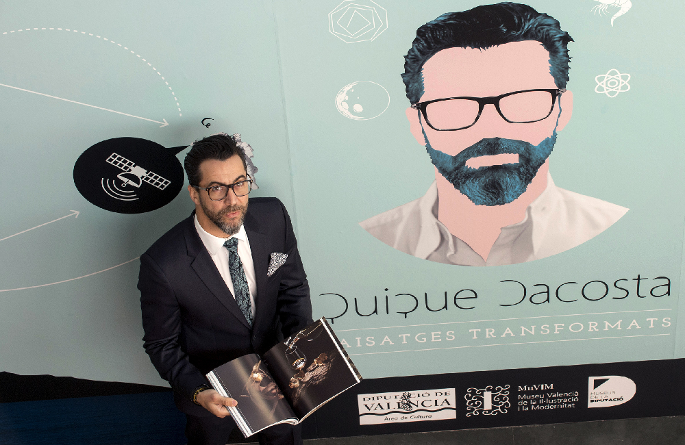 Catálogo de la exposición Quique Dacosta. Paisajes transformados.
