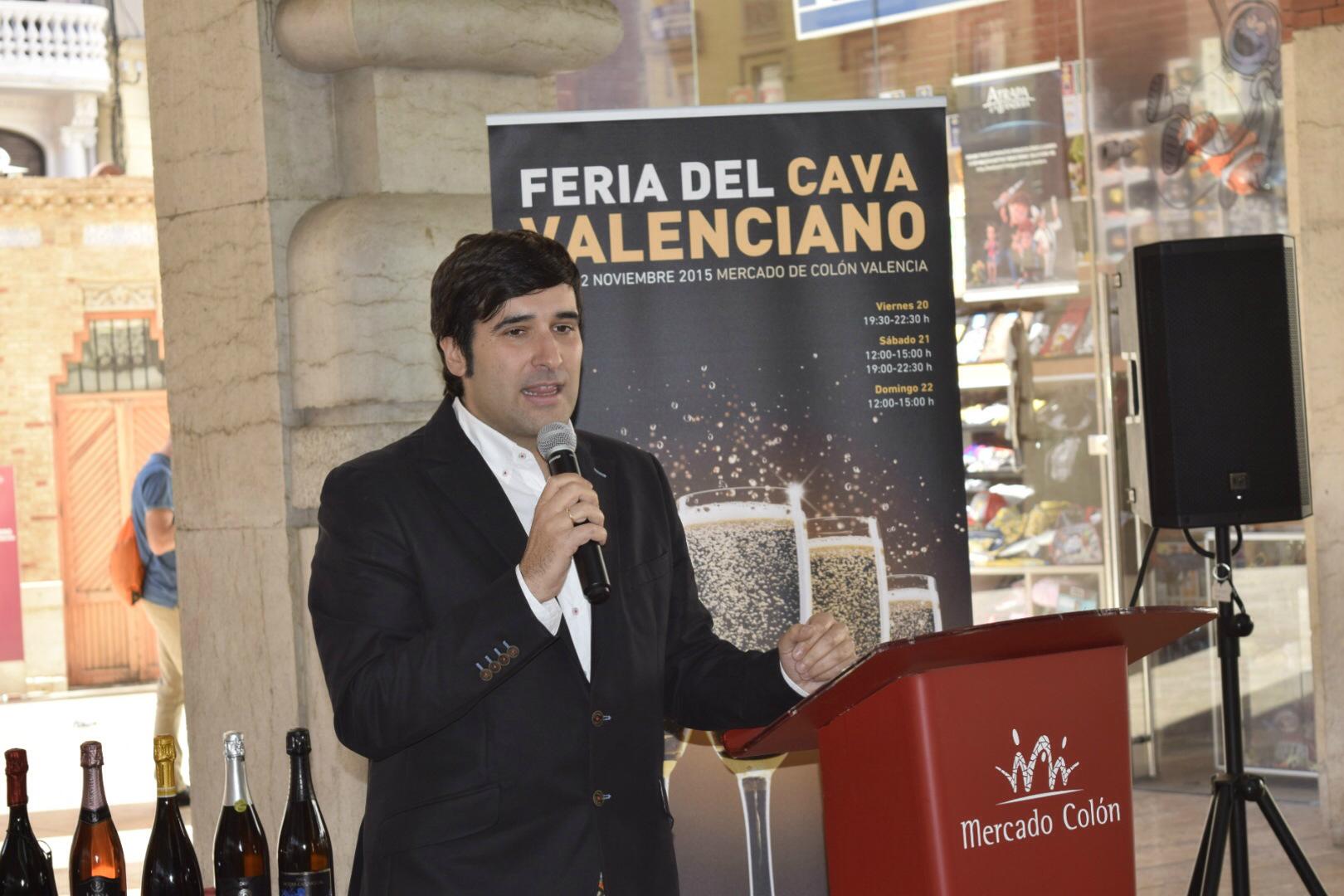 Jose Hidalgo durante la presentación