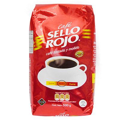 Café colombiano Sello Rojo