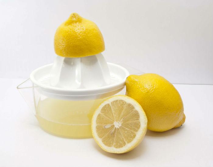 Limón exprimido