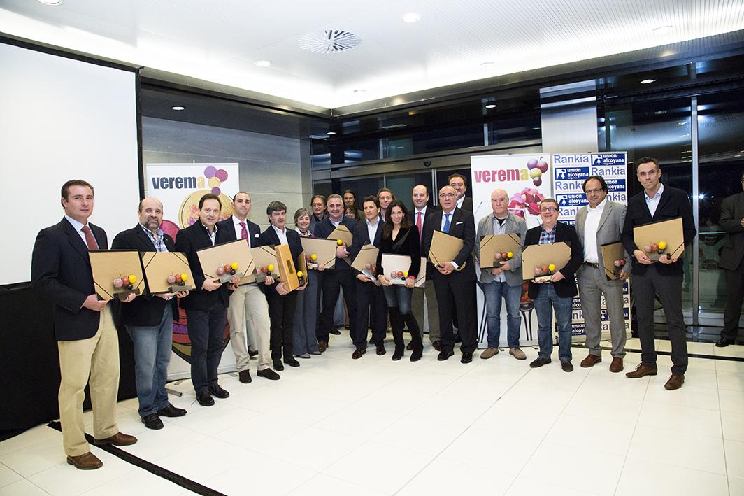 Ganadores Premios Verema