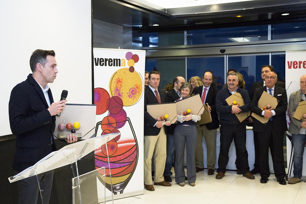 Entrega de los Premios Verema