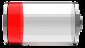 Bateria descargada